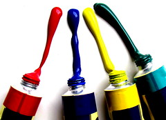 [Free Images] Objects, Stationery, Paint ID:201211170000