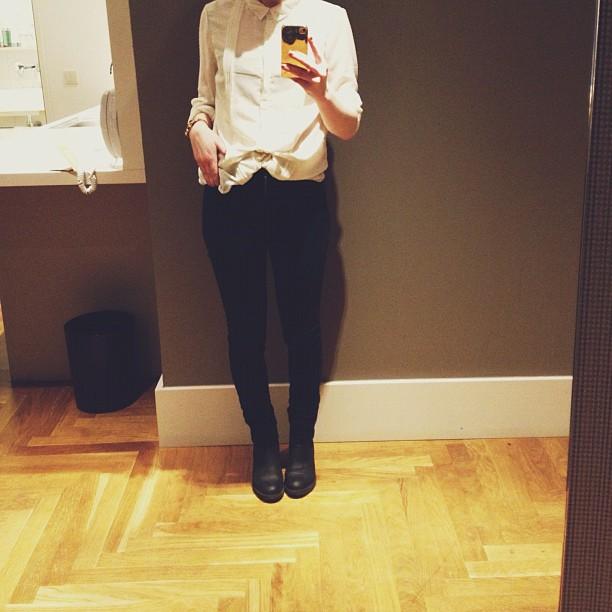 #outfit #goingout #blackandwhite