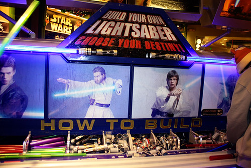 DisneyDowntown_Build-your-own-Lightsaber
