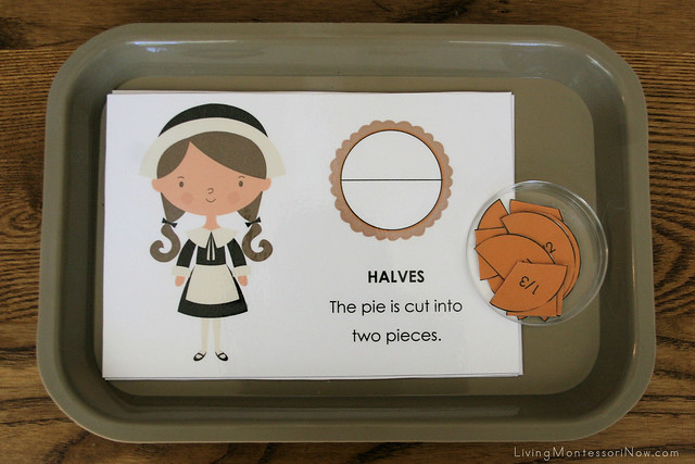 Thanksgiving Fraction Tray