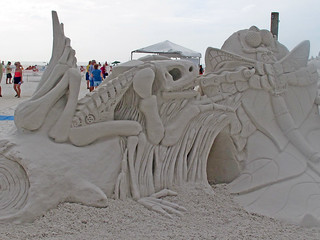 Siesta Key Crystal Classic Master Sand Sculpting Competingion