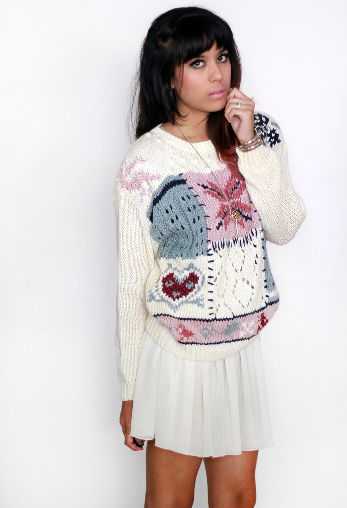 Tarte Vintage chunky knit sweater jumper