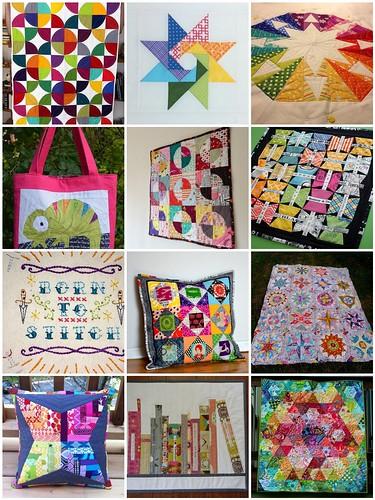Doll Quilt Swap 13 inspiration Mosaic