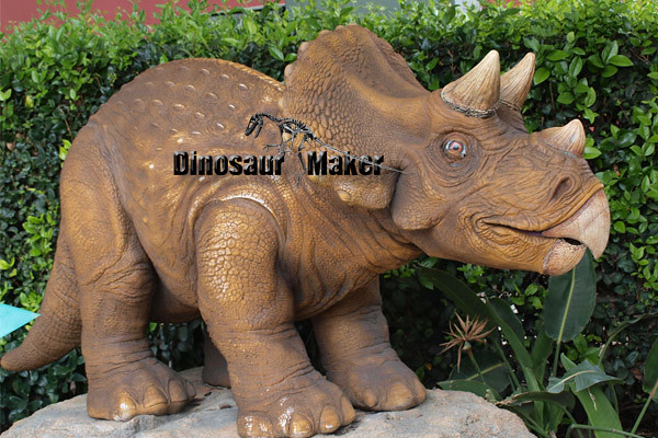 Mini Animatronic Dinosaur at the outdoor