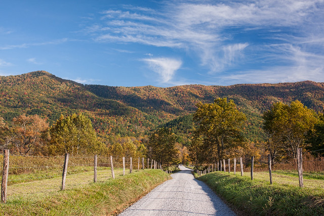 Cades cove in Autumn - Smoky Mountain National Park