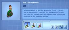 Mia the Mermaid