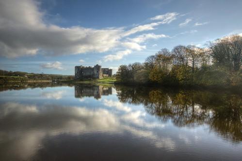 castle wales nikon sigma tudor 1020mm pembrokeshire carewcastle carew rivercarew d5100 ebalch