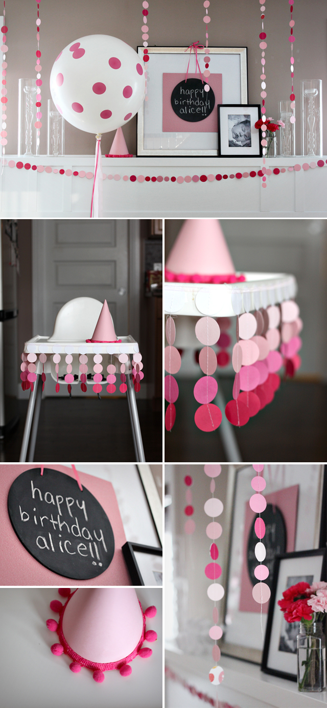 Just Bella Pink Polka Dot Party Alice S First Birthday