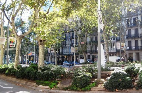 Passeig de Gracia, Barcelona (c2013 FK Benfield)