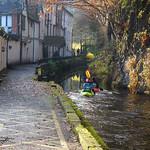 2012 - 11 - 18 - HS10 - Kayakers on Llangollen Canal - Chainbridge Hotel - Llangollen - 002