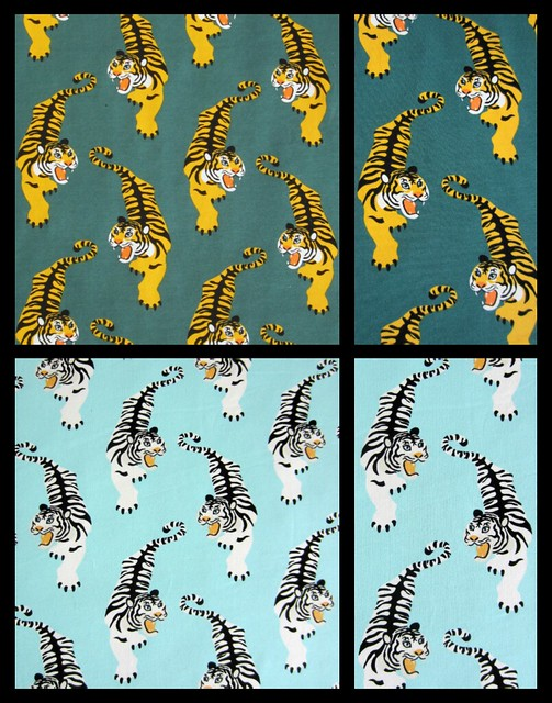 tiger collage 2