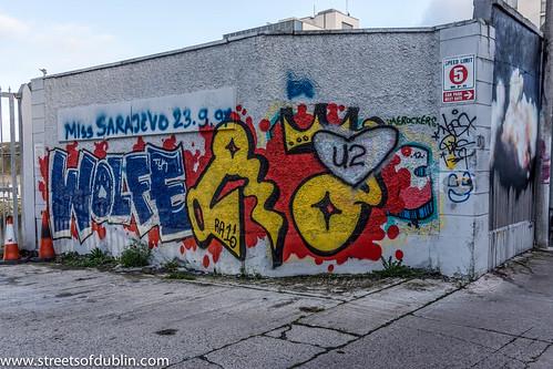 Graffiti And Street Art - Dublin Docklands by infomatique