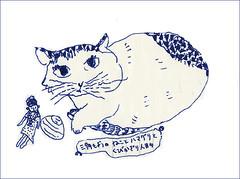 万年筆で描いた by Yoshiko Oouchi