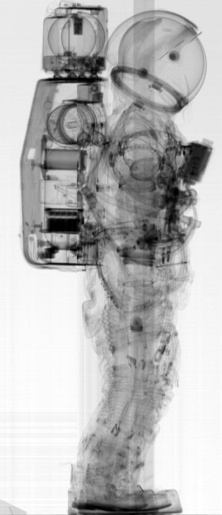 apollo space suit x ray - photo #1