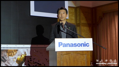 Mr Harry Sasaki, Marketing Director of Panasonic Malaysia