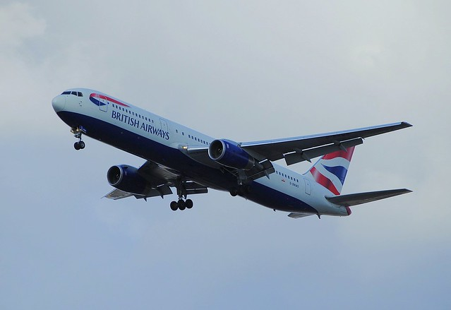 British Airways 767-300 G-BNWO