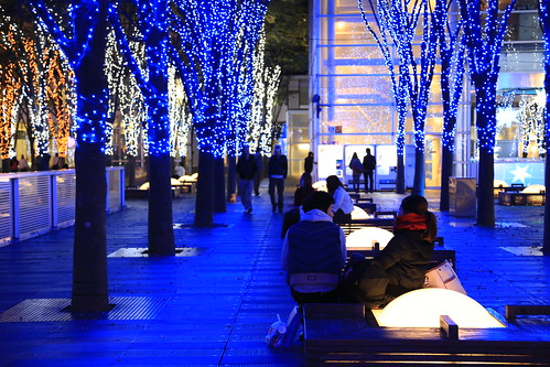 illumination at saitama-shintoshin japan