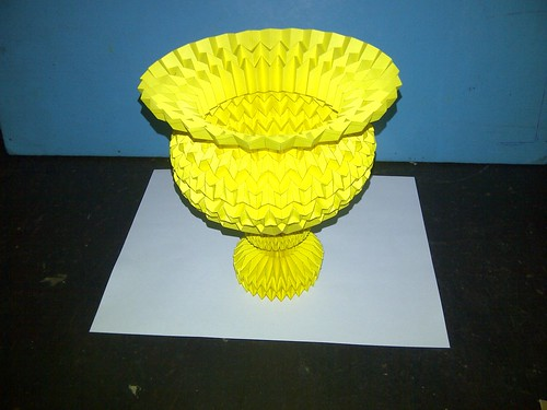 New Design Cup, Paper Folding / Nuevo Diseño Copa, Papel Plegado 7