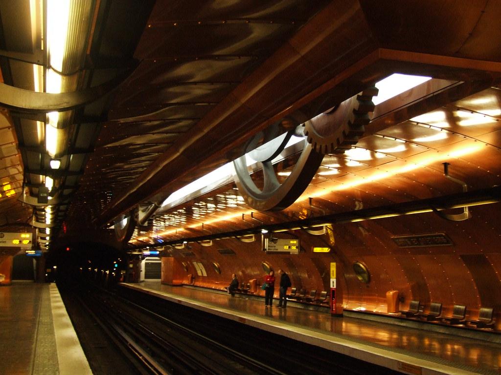 Estación de Artes y Oficios. Paris