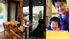 朝散歩 - モスカフェ2 (2012/11/22)