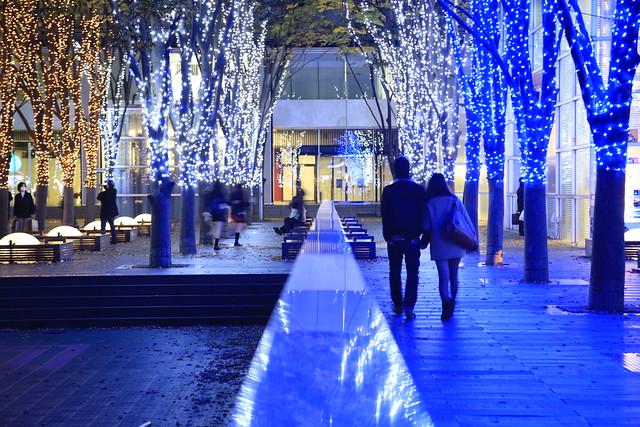 illumination at saitama-shintoshin japan
