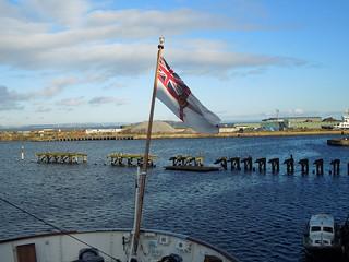 12 11 17 Britannia at Leith