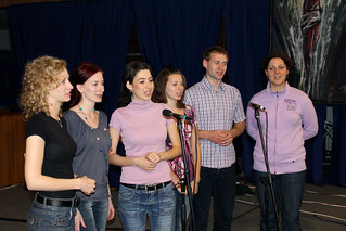 Trnva youth fill the hall with song