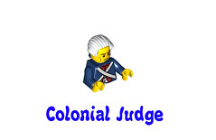 LEGO Minifigures Series 10 -  Colonial Judge