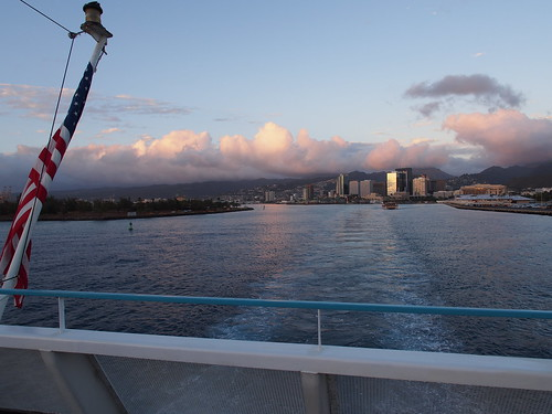STAR of Honolulu (ディナークルーズ) - 夕暮れ