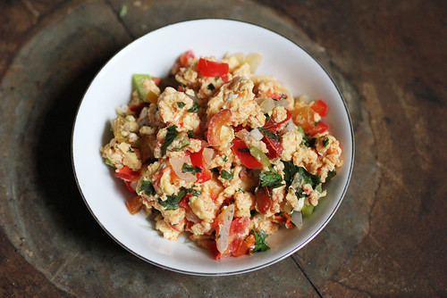 Indian-style Scrambled Eggs