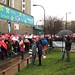 Save Lewisham A&E: waiting in line