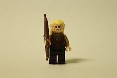 LEGO The Hobbit Escape From Mirkwood Spiders (79001) - Legolas Greenleaf