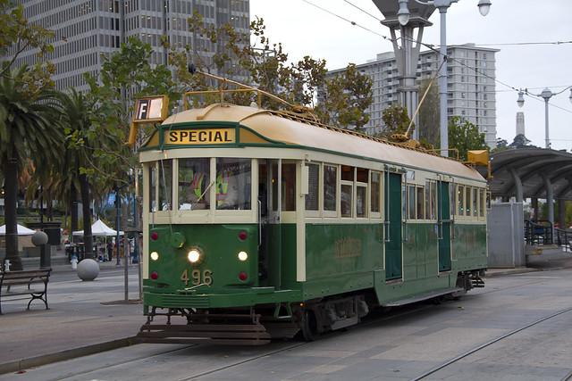 MUNI F Line Streetcar
