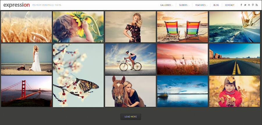 Expression Photography WordPress Theme