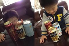 缶ビールで遊ぶ (2012/11/25)