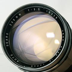 Sears 200mm f3.5 M42,001