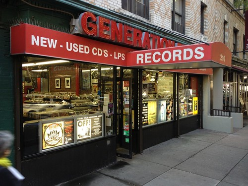 Record Store Visit: Generation Records - New York, NY - 11/21/12 by Tim PopKid