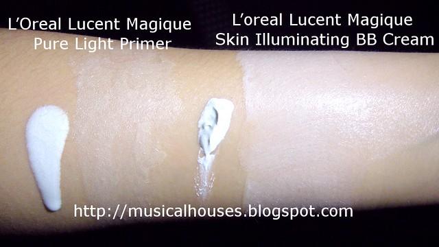 loreal lucent magique bb cream primer