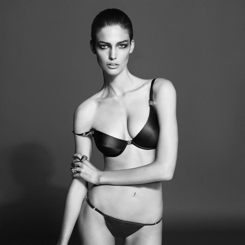 Candice Swanepoel for Versace Underwear BW