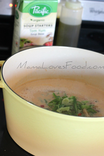 Coconut Tomato Tom Yum Soup