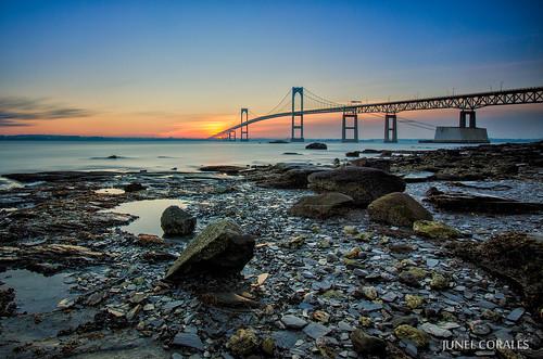 ri bridge sunrise rhodeisland newport newportbridge newportrhodeisland leefilters bigstopper