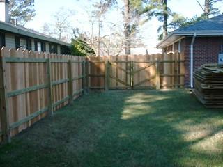 Dog Ear 3 Board Fence