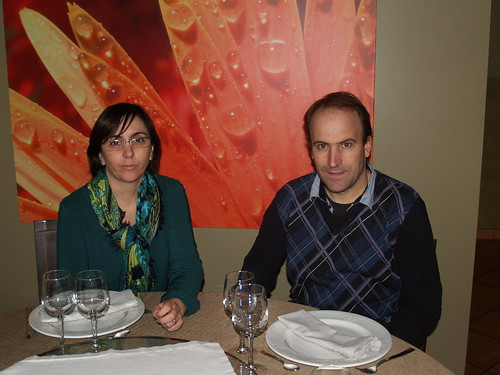 Marga Cabanillas i Àngel Bujons, responsables del restaurant El Morter.