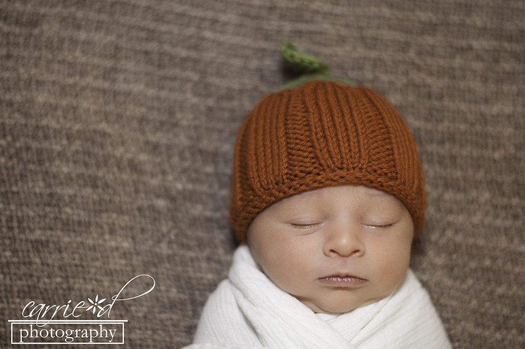 Baltimore Newborn Photographer - Baltimore Photographer - Baltimore Family Photographer - Newborn Photography - Pumpkin Newborn Hat - Christmas Newborn Hat - Newborn Photo with Football - Ian 11-19-2012 (164 of 208)