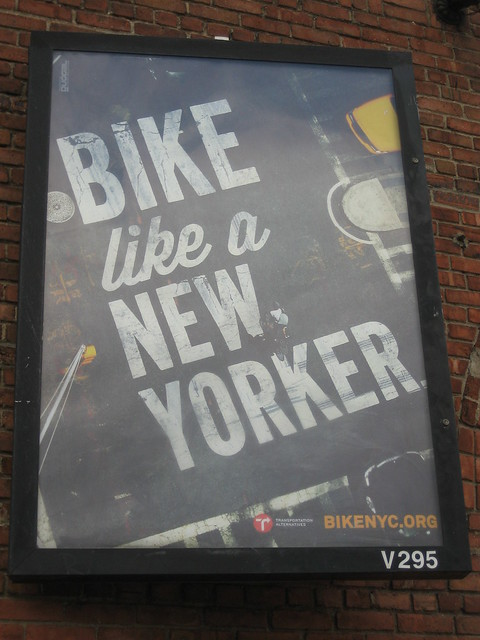 Bike like a New Yorker.