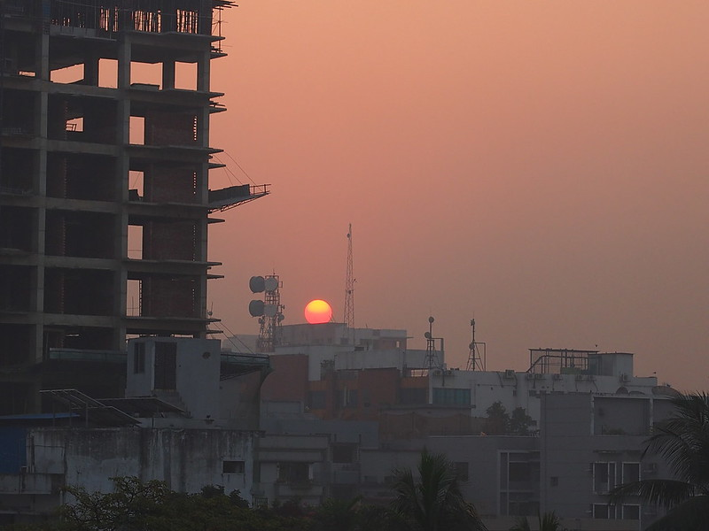 Dawn in Dhaka