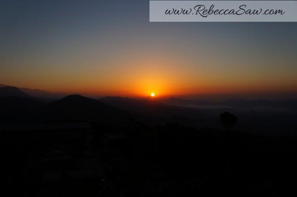 Sarangkot Nepal - sunrise pictures - rebeccasawblog-005