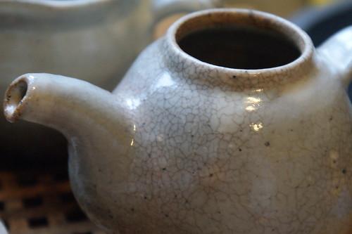 Park Jong Il Teapot Staining
