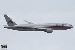 N786AN - 30250 - American Airlines - Boeing 777-223ER - Heathrow - 120721 - Steven Gray - IMG_5705