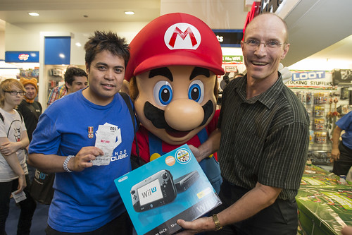 Ninteno Wii U Launch 29.11.12 EB SWANSTON ST MELBOURNE (318 of 410)